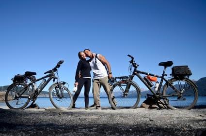 camino de los 7 lagos en bici. Info útil cicloturismo y cicloviajeros.