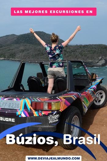 Las mejores excursiones en las playas de Búzios, Brasil. Guía rápida para organizar tu viaje.