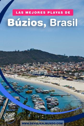 Las mejores playas de Búzios Brasil. Guía rápida para organizar tu viaje.