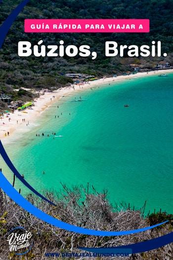 Playas de Búzios, Brasil. Guía rápida para organizar tu viaje.