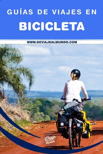 Guías de viajes en bicicleta | Tips útiles cicloviajeros y cicloturistas.