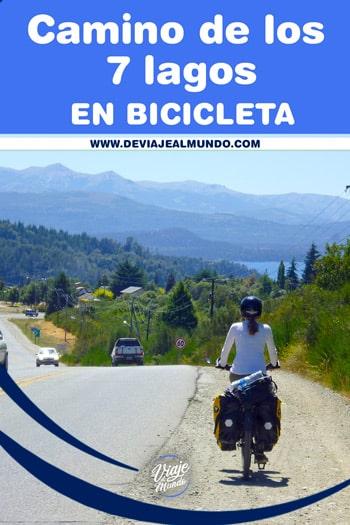 Camino de los 7 lagos en bici Argentina. Guía de viaje
