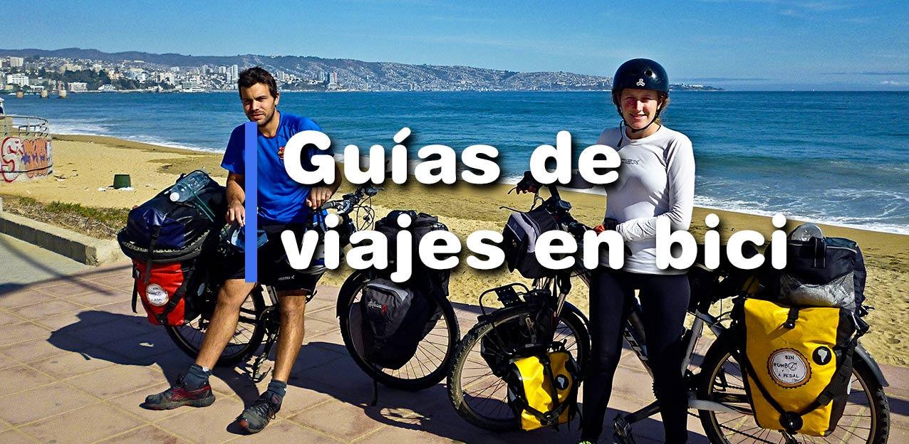viajar en bicicleta rutas guías de viajes