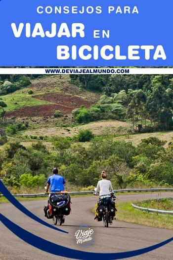 consejos para viajar en bicicleta. Cicloturismo