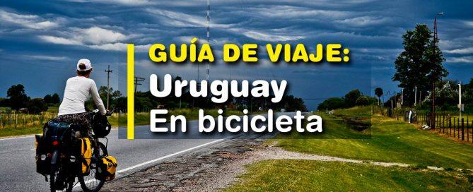 Costa de Uruguay en bicicleta. Guía de viaje. Cicloturismo. Blog