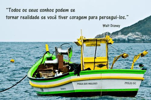 Foto postal praia dos ingleses Florianópolis Brasil
