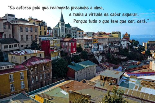 Foto postal Valparaíso deviajealmundo